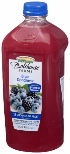 Bolthouse Farms Blue Goodness Fruit Juice Smoothie Perspective: right