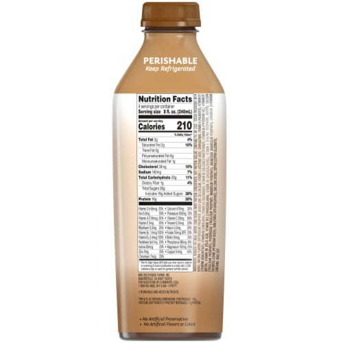 Bolthouse Farms Protein Plus Chocolate Shake Perspective: right
