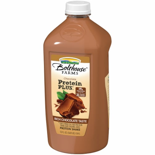 Bolthouse Farms Protein Plus Chocolate Protein Shake Perspective: right