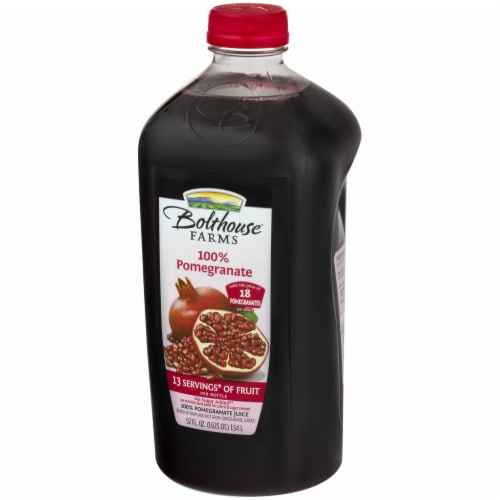 Bolthouse Farms 100% Pomegranate Juice Perspective: right