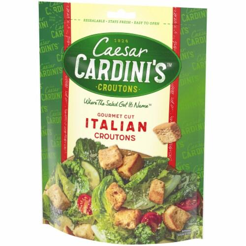 Cardini's Gourmet Cut Italian Croutons Perspective: right