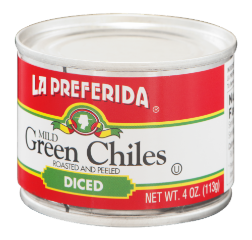 La Preferida Diced Mild Green Chiles Perspective: right