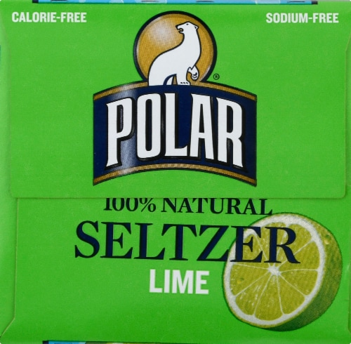 Polar Lime Seltzer Perspective: right