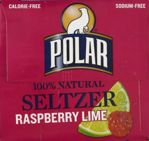 Polar Raspberry Lime Seltzer Perspective: right