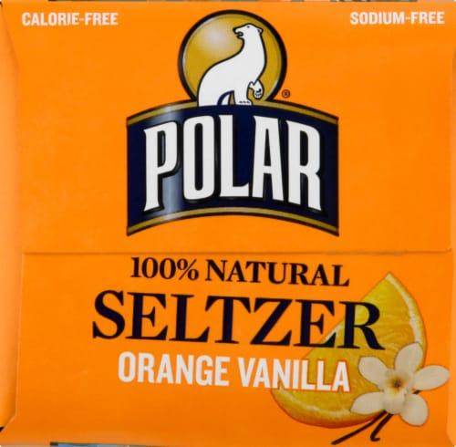 Polar Orange Vanilla Seltzer Water Perspective: right
