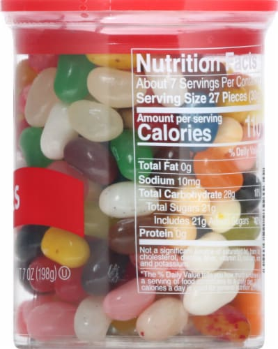 Jelly Belly 30 Flavors Jelly Beans Can Perspective: right