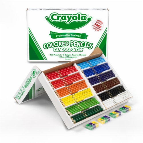 Crayola Classpack Colored Pencils Perspective: right