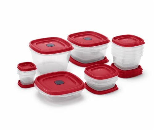 Rubbermaid Easy Find Lids Food Storage Containers Set Perspective: right