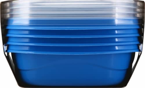 Rubbermaid® Take Alongs On The Go Square Containers Perspective: right