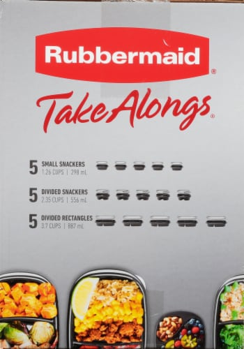 Rubbermaid Take Alongs Meal Prep Containers Perspective: right