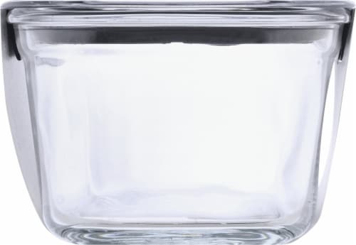 Rubbermaid Brilliance Glass Rectangular Food Storage Container - Clear Perspective: right