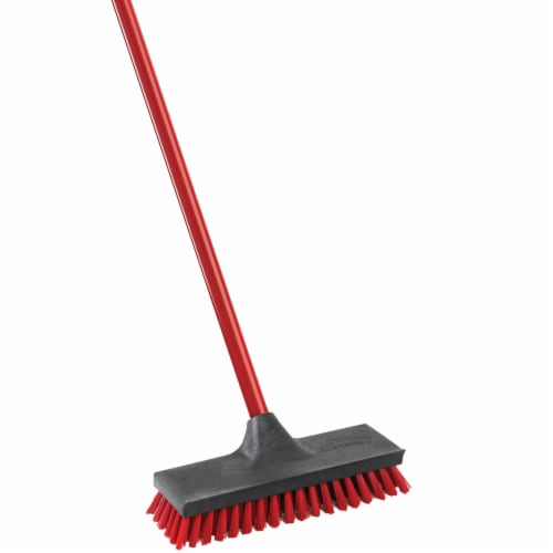 Libman® Floor Scrub Brush & Handle Perspective: right