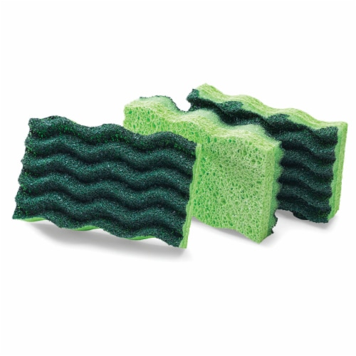Libman® Heavy Duty Scrub Sponges - Green Perspective: right