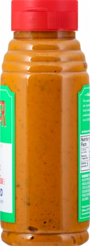 Beaver Brand Extra Hot Jalapeno Mustard Perspective: right
