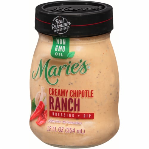 Marie's Creamy Chipotle Ranch Dressing + Dip Perspective: right
