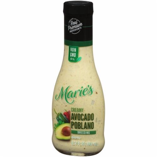 Marie's Creamy Avocado Poblano Dressing Perspective: right