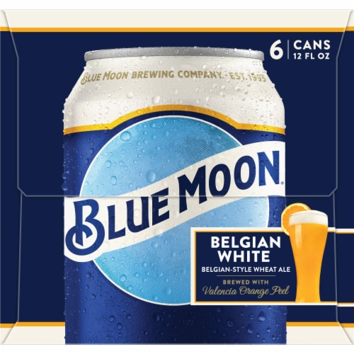 Blue Moon Belgian White Belgian-Style Wheat Ale Perspective: right