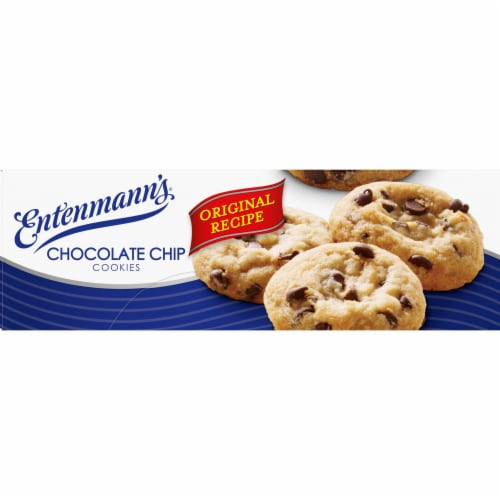 Entenmann's Chocolate Chip Cookies Perspective: right