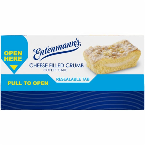 Entenmann's Cheese Filled Crumb Coffee Cake Perspective: right