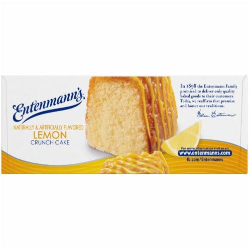 Entenmann's® Lemon Crunch Cake Perspective: right
