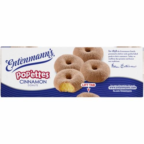 Entenmann's Pop'ettes Cinnamon Donuts Perspective: right