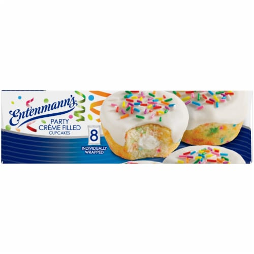 Entenmann's® Party Creme Filled Cupcakes Perspective: right