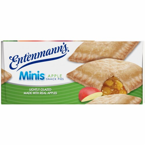 Entenmann's Apple Mini Snack Pies Perspective: right