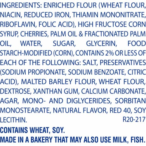 Entenmann's Cherry Mini Snack Pies Perspective: right