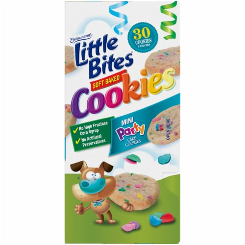 Entenmann's Little Bites Mini Party Cake Cookies Perspective: right