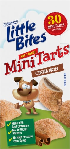 Entenmann's® Little Bites® Cinnamon Soft Baked Mini Tarts Perspective: right