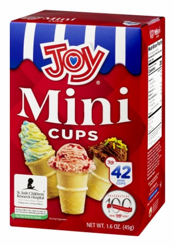 Joy Mini Cups 42 Count Perspective: right