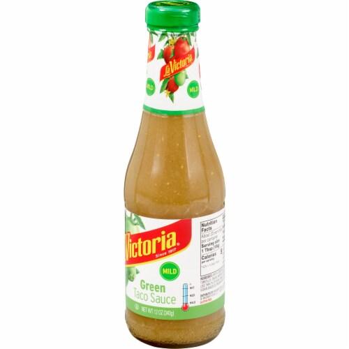 La Victoria Mild Green Taco Sauce Perspective: right