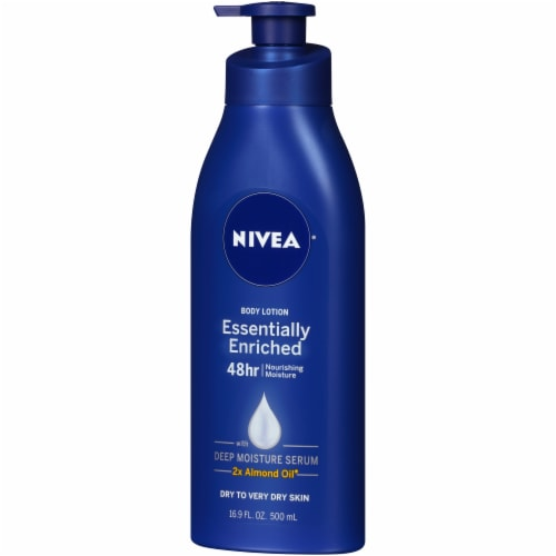 Nivea Essentially Enriched Nourishing Moisture Body Lotion Perspective: right