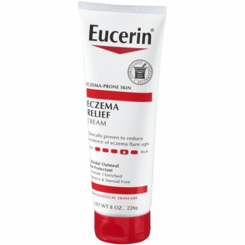 Eucerin Eczema Relief Body Cream Perspective: right