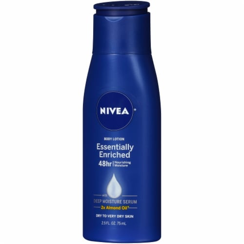 Nivea Essentially Enriched Travel Size Body Lotion Perspective: right