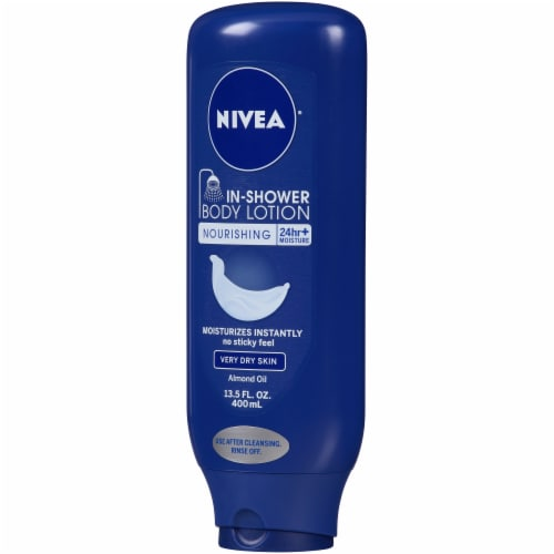 Nivea Nourishing In-Shower Body Lotion with Almond Oil Perspective: right