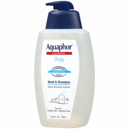 Aquaphor Cleansing Baby Wash & Shampoo Perspective: right