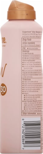 Coppertone Glow with Shimmer Lightweight Sunscreen Spray SPF 30 Perspective: right