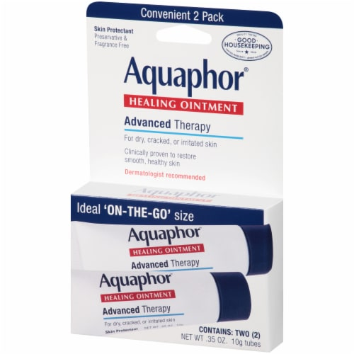 Aquaphor® Advanced Therapy Healing Ointment Perspective: right