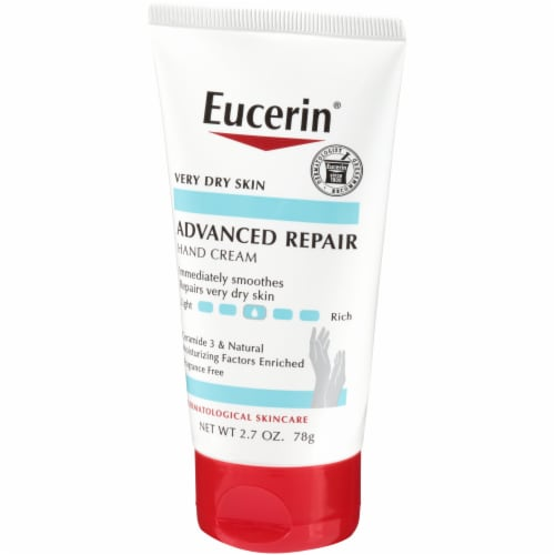 Eucerin Advanced Repair Hand Cream 2.7 oz Perspective: right