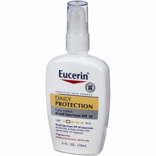 Eucerin Daily Protection Face Lotion with SPF 30 Perspective: right