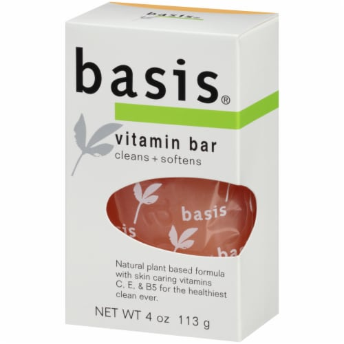 Basis Vitamin Bar Soap Perspective: right