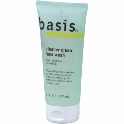 Basis Cleaner Clean Face Wash 6 fl oz Perspective: right