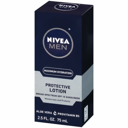 Nivea Men Maximum Hydration Protective Lotion SPF 15 Perspective: right