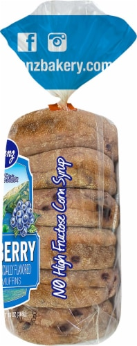 Franz Limited Edition Blueberry English Muffins Perspective: right