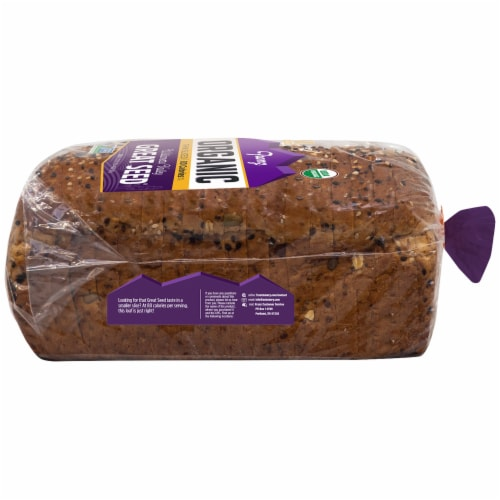 Franz Williamette Valley Organic Thin Sliced Great Seed Bread Perspective: right