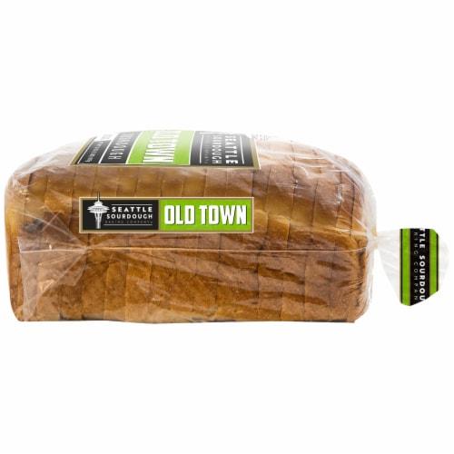 Seattle Sourdough Baking Co. Old Town Sourdough Bread Perspective: right