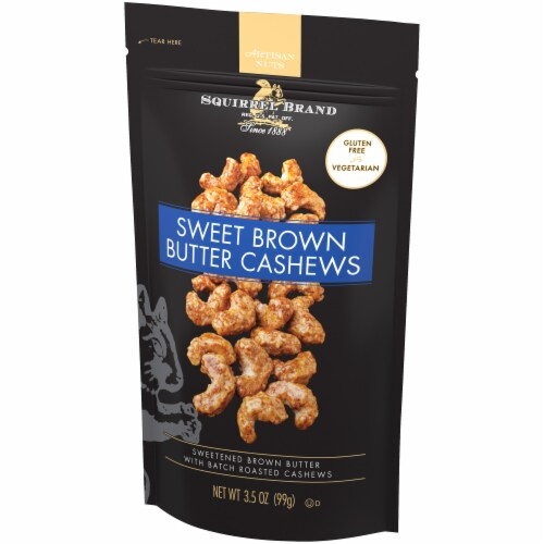 The Squirrel Brand Sweet Brown Butter Cashews Perspective: right