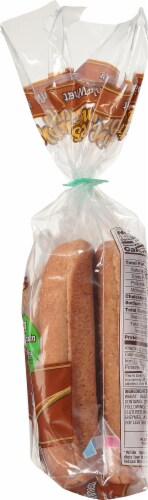 Nature's Own 100% Whole Wheat Hot Dog Buns Perspective: right