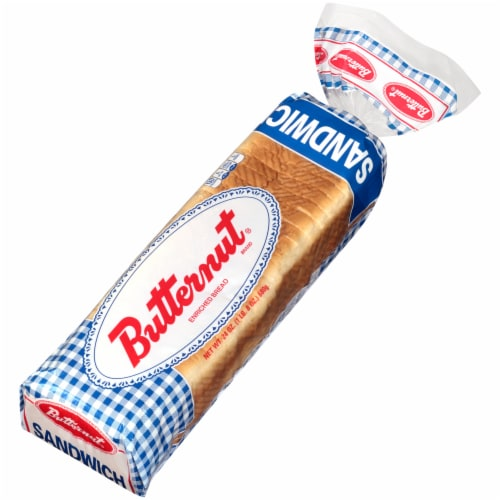 Butternut White Sliced Sandwich Bread Perspective: right